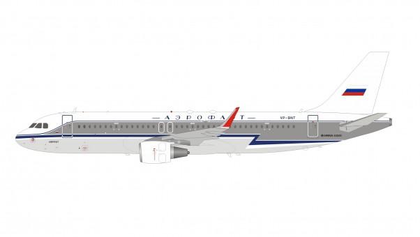 Aeroflot Airbus A320-214 VP-BNT stand Аэрофлот InFlight IF320SU0818 scale 1:200