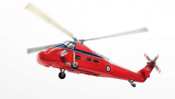 Queen's Flight Westland Wessex HCC.MK.IV Helicopter AA37609 Corgi Scale 1:72