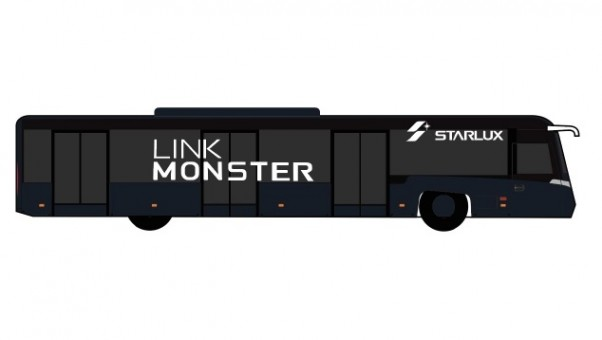JX Link Monster Bus Set of 4 Accessories Fantasy Wings AA4024 scale 1:400