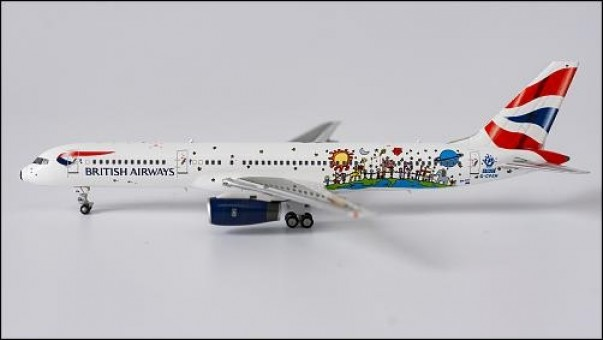 British Airways 752 G-CPEM Blue Peter livery NG Models 53092 scale 1-400