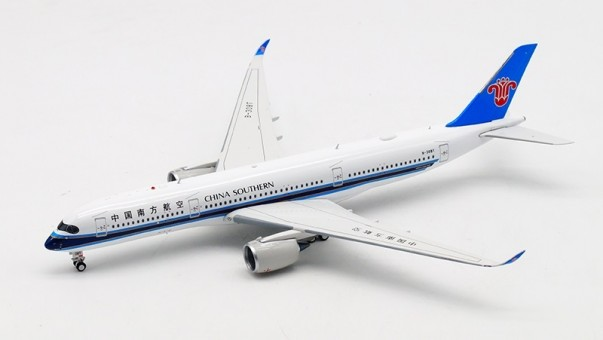 China Southern Airbus A350-900 B-308T 中国南方航空 with stand Aviation400 AV4053 scale 1:400