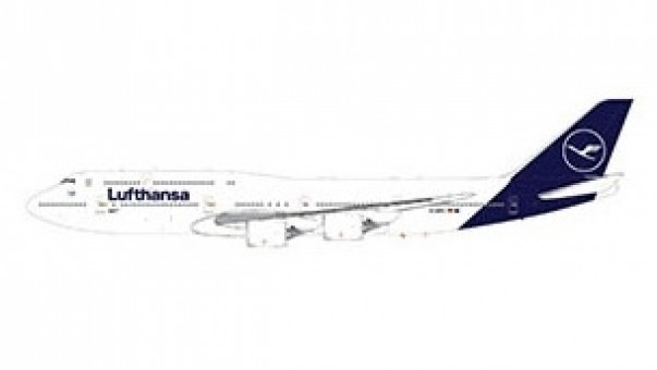 Lufthansa Boeing 747-8i New Livery Gemini GJDLH1779 scale 1:400