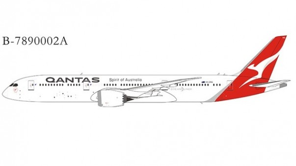 Qantas Boeing 787-9 Dreamliner VH-ZNG New Livery NGModel B-7890002A Extra model NG scale 1400