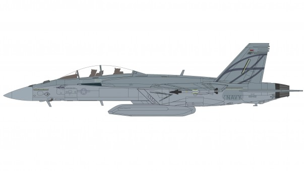 "US Navy F/A-18F Super Hornet  ""Advanced Super Hornet"" 2013 Hobby Master HA5118b scale 1:72"