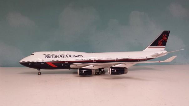 "British Asia Airways Boeing 747-436 Reg# G-CIVA ""City of St. Davis"" JFOX/ InFlight Model JF-747-4-014 Scale 1:200"