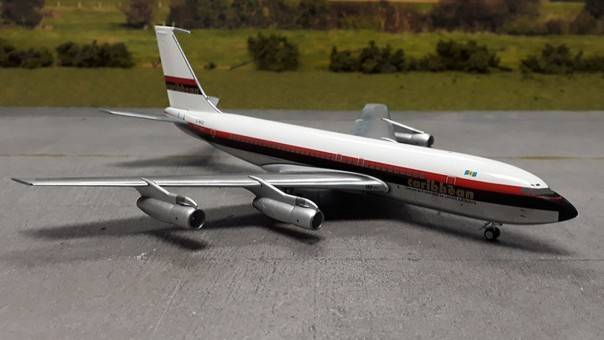 Caribbean Airways Boeing B707-133B Reg#G-AVZZ Aeroclassics/Western Scale 1:200