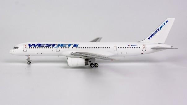 Westjet Boeing 757-200 White Livery N750NA NG Model 53122 Scale 1:400