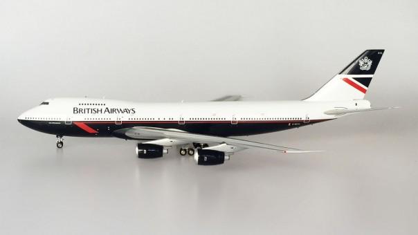"""British Airways Boeing 747-236B Reg# G-BDXL """"City of Winchester"""" JFOX/ InFlight Model JF-747-2-003 Scale 1:200"""
