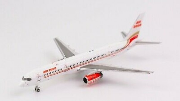 Air 2000 752 winglets G-OOOA NG Models 53081 scale 1-400