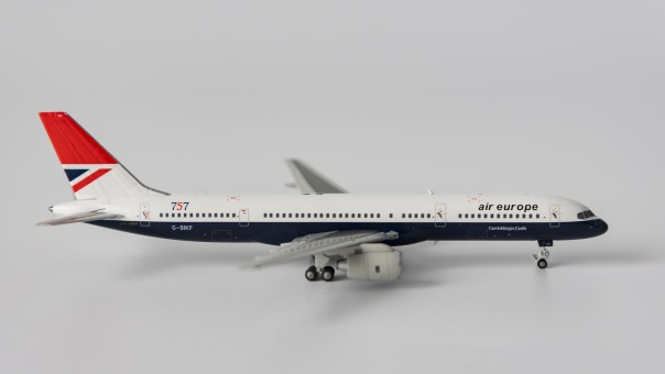 Air Europe Boeing 757-200 BA's Negus livery G-BIKF NG Models 53021 scale 1:400