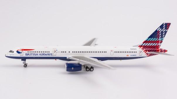 British Airways 752 Scotland tail Benyhone Tartan G-BIKO NG Models 53077 scale 1:400