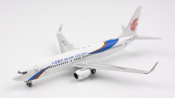 Dalian Airlines 737800w B-7891 NG models 58020 scale 1:400