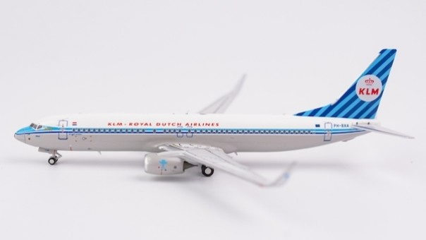 KLM  B738 Winglets PH-BXA retro livery die-cast NG models 58011 scale 1:400