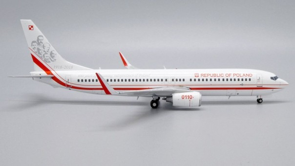 Polish Air Force Boeing 737-800 0110 JCWings LH2PAF245 scale 1:200