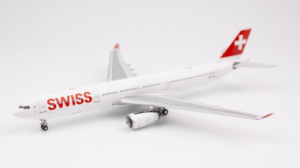 Profile Swiss International Airbus A330-200 HB-JHC NG models 62001 scale 1:400