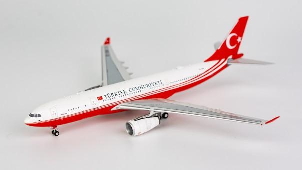 TURKIYE CUMHURIYETI A330-200 TC-TUR  NG61006 NGModels Scale 1:400