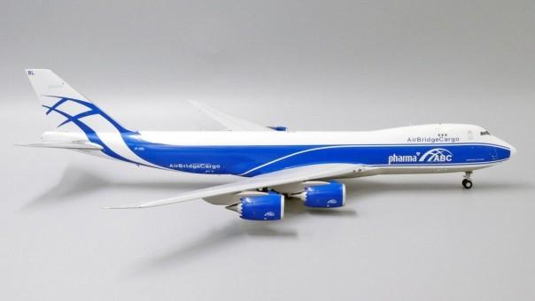 "Air Bridge Cargo Boeing 747-8F VP-BBL ""Pharma Title"" JC Wings JC2ABW290 scale 1:200"