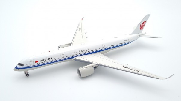 Air China Airbus A350-900 B-1081 中国国际航空公司 with stand Aviation400 AV4072 scale 1:400