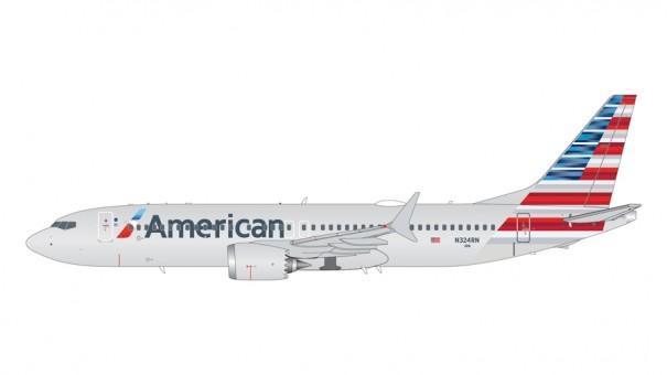 American Airlines Boeing 737 MAX9 N324RN Gemini 200 G2AAL1004 scale1:200