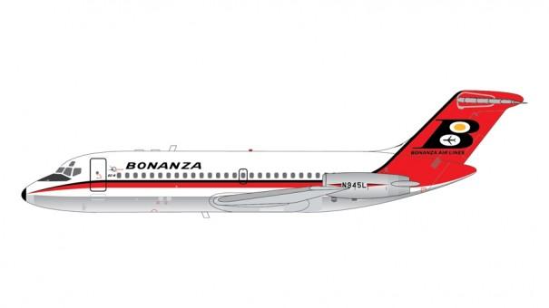 Bonanza Airlines DC-9-11 N945L Gemini 200 G2BZA480 scale 1:200