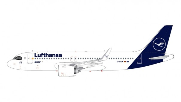 Lufthansa Airbus A320neo D-AIJA Gemini Jets G2DLH816 scale 1:200