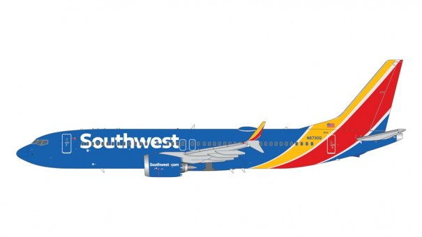 Southwest Airlines NC Boeing 737 MAX 8 N8730Q Gemini Jets G2SWA1008 scale 1:200