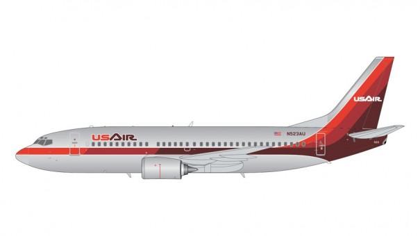 USAir Boeing B737-300 (polished 1980s livery) N523AU  200 G2USA429 scale 1:200