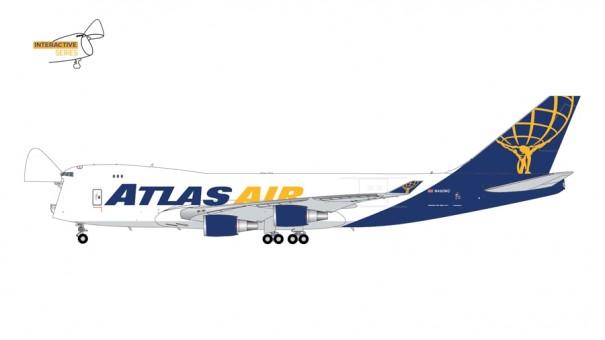 Atlas Air Boeing 747-400F N492MC Gemini Jets GJGTI2012 scale 1:400