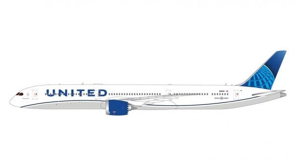 United Airlines Boeing 787-10 N12010 Dreamliner Gemini GJUAL1808 scale 1:400