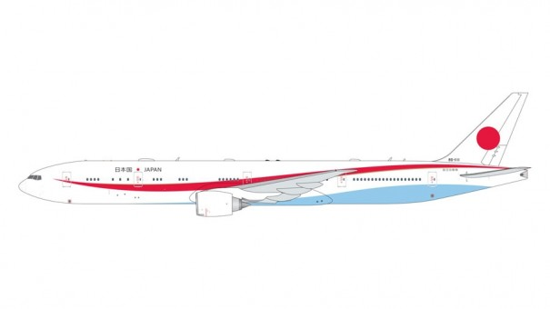 JASDF Boeing 777-300ER 80-111 Japan Air Self-Defense Force Gemini Macs GMJSD086 scale 1:400