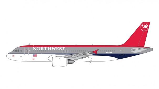 Northwest Airbus A320 N365NW Gemini Jets GJNWA371 scale 1:400