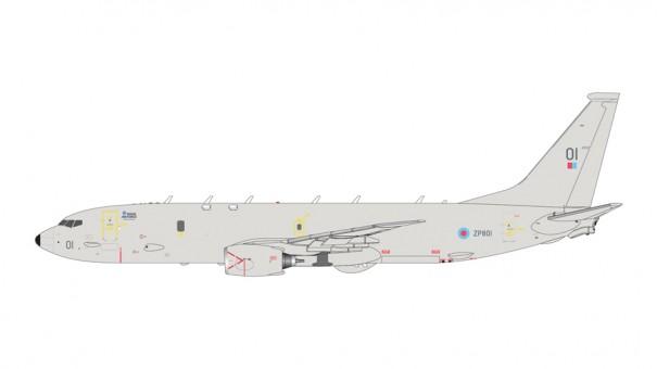 RAF Royal Air Force Poseidon P-8 (737) Raked Wingtips 428 G2RAF899 scale 1:200