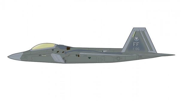 USAF F-22A Raptor 1st OG Langley AFB June 2017 Hobby Master HA2821 scale 1:72