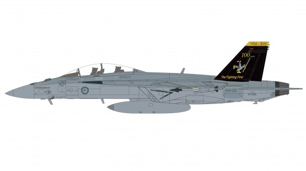 RAAF F/A-18E Super Hornet  2019 100 anniversary Hobby Master HA5117 scale 1:72