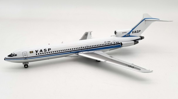 Limited! Vasp Boeing 727-200 polished PP-SNH with stand InFlight IF722VP0620P scale 1:200