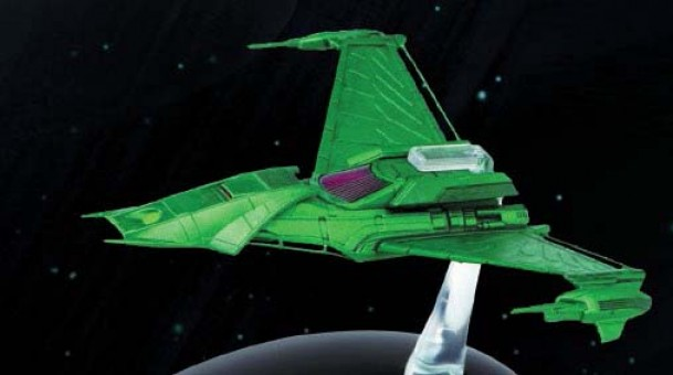 Klingon Augment's Ship  Star Trek Universe EagleMoss Die-Cast EM-ST0053