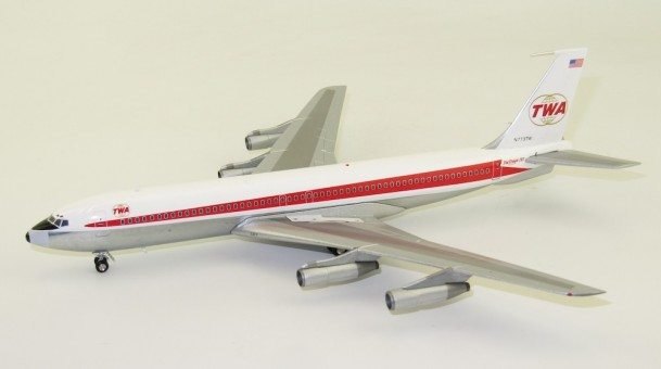 Trans World TWA Boeing 707-300 N773TW Polished InFlight IF707TW0619P scale 1:200