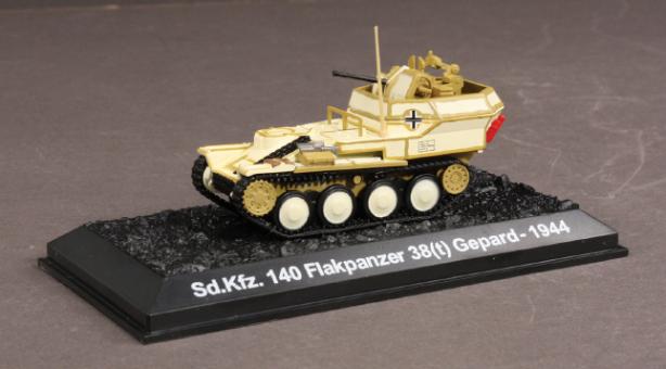 Sd.Kfz.140 Flakpanzer 38(t) Scale 1:72 Die Cast Model Blitz Models BL18753