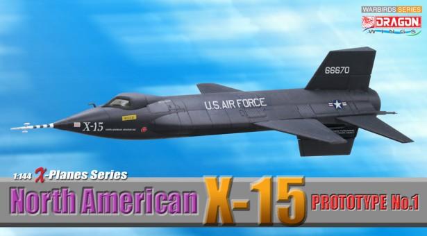 1/144 North America X-15 Prototype No.1
