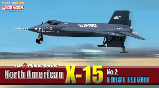 1/144 North America X-15 First Flight (Version 2) DRW-51032