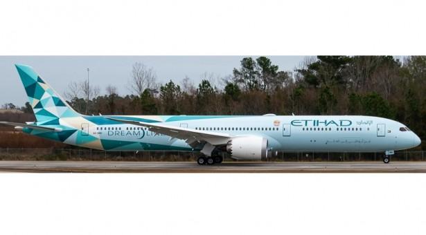 Etihad 2020 livery Boeing 787-10 A6-BMG Dreamliner B78X NGModel scale 1:400