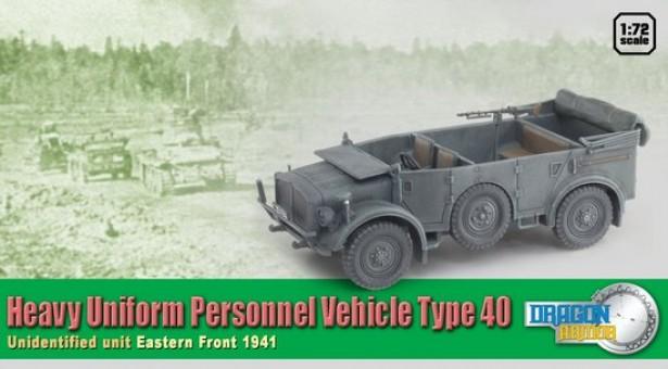 Heavy Uniform Personnel Vehicle Type 40 Scale 1:72