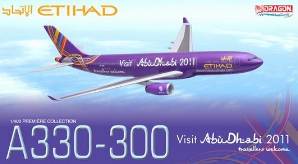 "Etihad Airways A330-300 ~ A6-AFA ""Visit Abu Dhabi in 2011"""