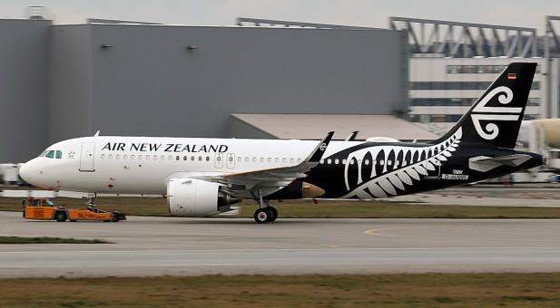Air New Zealand Airbus A320neo White/Black ZK-NHA JC JC2ANZ269 1:200