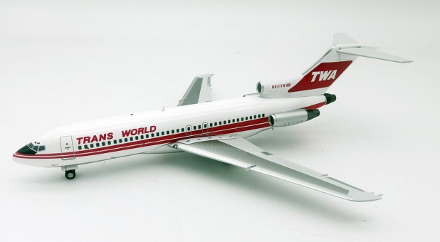 TWA Transworld Boeing 727-31 N831TW with stand InFlight IF721TW1219 scale 1:200