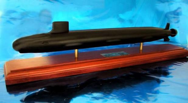 Virginia Class Submarine 1/350 Scale 1:192