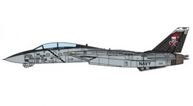 "Jolly Rogers F-14A Tomcat ""Santa Cat"" USS Enterprise 1996 JCW-72-F14-005 scale 1:72"