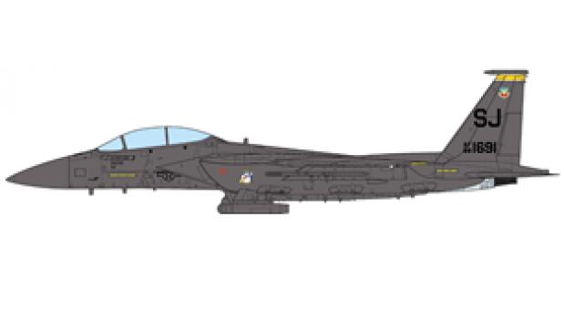 USAF F-15E Strike Eagle 336th Fighter Squadron Desert Storm 1991 JCW-72-F15-008 scale 1:72