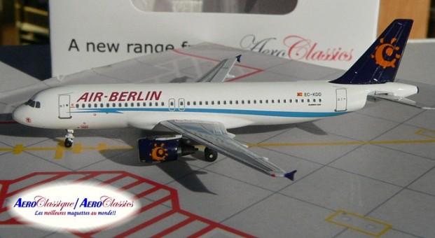 Air Berlin  A320 EC-KDD 1:400