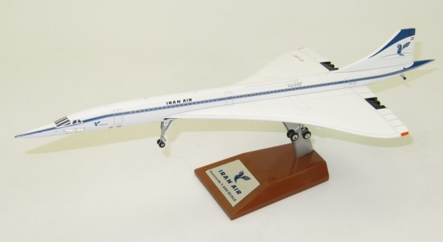 Iran Air هما Concorde EP-SST With Stand InFlight IFCONCIR001 Scale 1:200